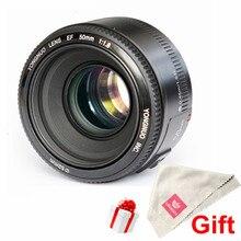 YONGNUO YN50mm Стандартный Фикс Объектив с Большой Апертурой F1.8 Объектив с Автофокусировкой для Canon EF Крепление Rebel 650D 700D 7D 5D DSLR Камеры