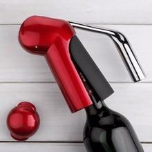 새로운 전문 아연 합금 파워 와인 오프너 병 코르크 따개 오프너 포일 커터 프리미엄 토끼 레버 코르크 스크류 와인
