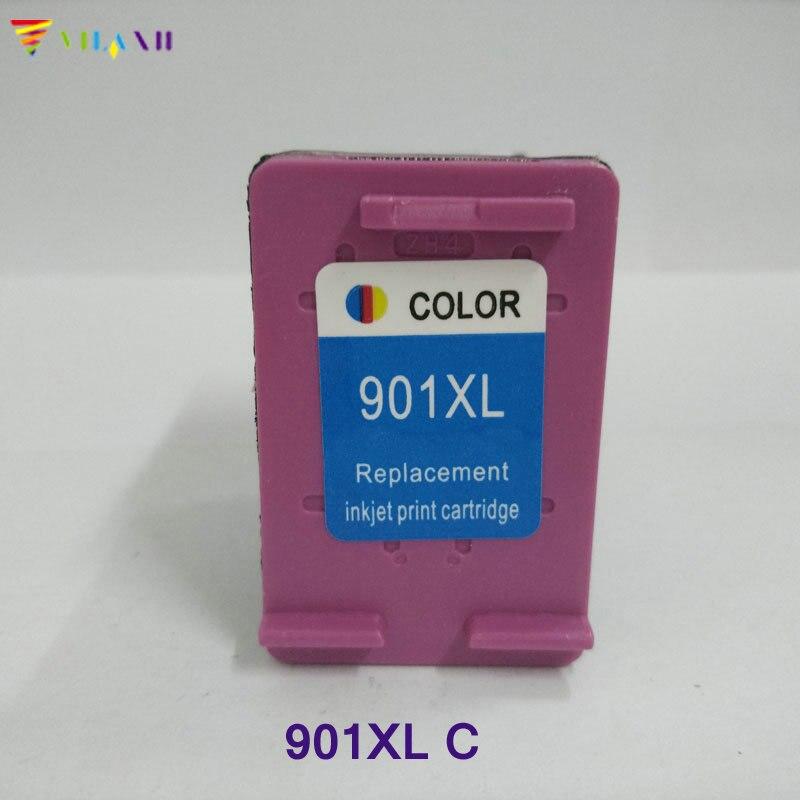 Vilaxh համատեղելի թանաք քարթրիջի փոխարինման համար HP 901xl Officejet 4500 J4525 J4535 J4540 J4550 J4580 J4624 J4640 J4660 տպիչի համար