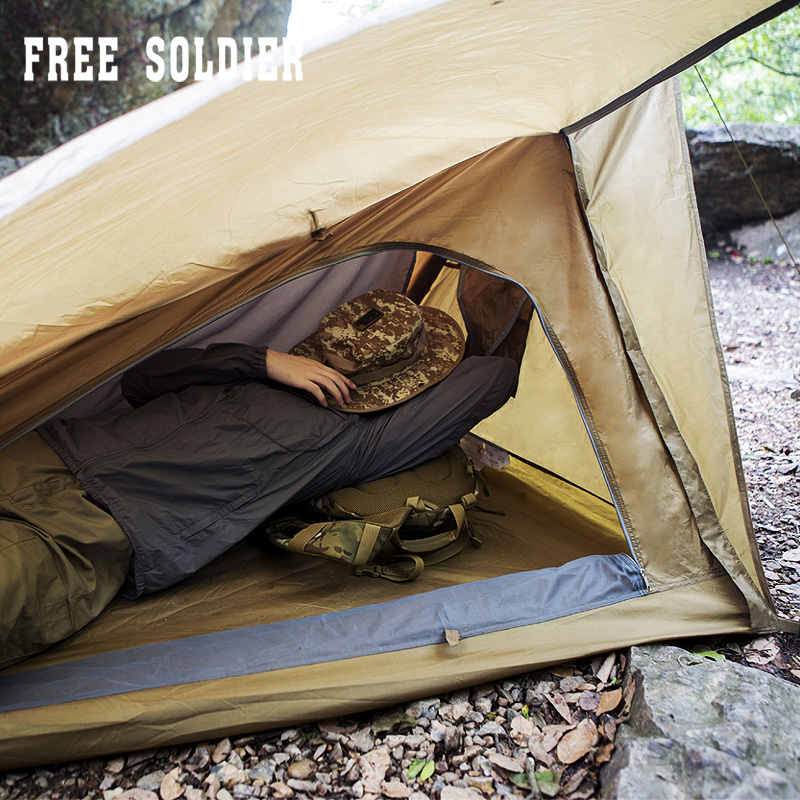 FREE SOLDIER Outdoor Sports C&ing Hiking Tent & SOLDIER Outdoor Sports Camping Hiking Tent