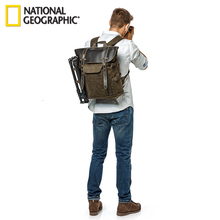 NG A5280 National Geographic Photo Backpack For DSLR Action Camera Tripod Bag Kit Lens Pouch Laptop Outdoor Photography Bags new pattern national geographic ng a5290 camera bag backpacks video photo bags for camera backpacks bags