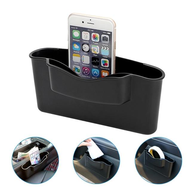 Car Storage Box Plastic Auto Car Seat Gap Pocket Catcher Organizer Storage Box Auto Bag Container Car Styling Stowing Tidying