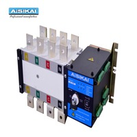 AISIKAI ATS 630a 4p Controller Automatic Transfer Switch manual three phase smartgen dual power ats panel for generator set