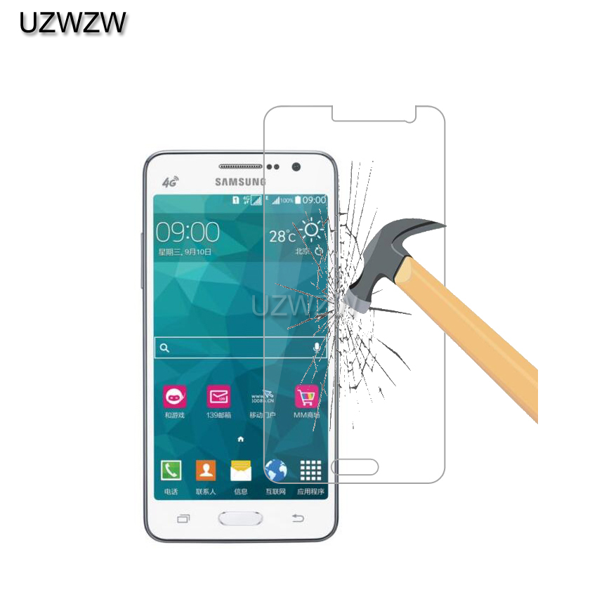 2pcs  Tempered Glass For Samsung Galaxy Grand Prime G530 G530F G530FZ G530Y G530H G530W Screen Protector Film Glass For G530-in Phone Screen Protectors from Cellphones & Telecommunications