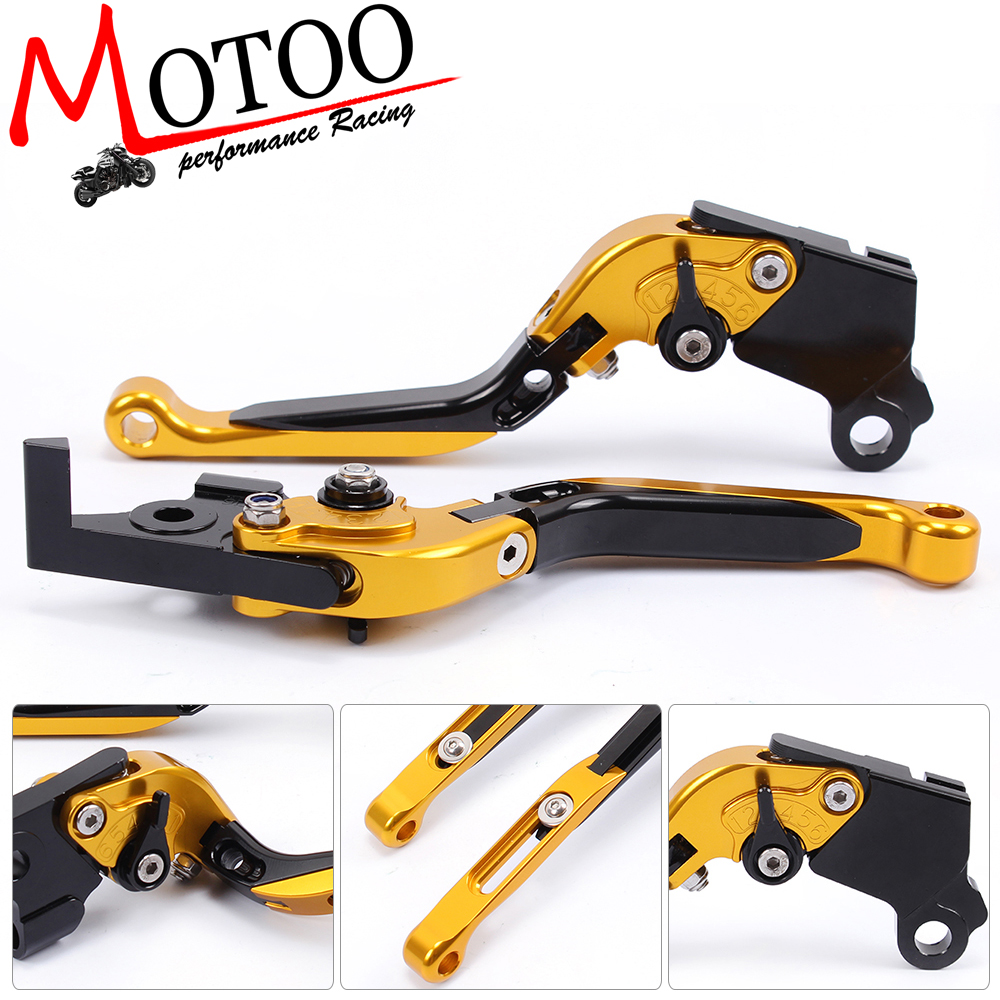 Motoo -  F-16 D-37 Adjustable CNC 3D Extendable Folding Brake Clutch Levers for MOTO GUZZI BREVA 750 2004-2009 V7 Racer 11-17 adjustable cnc aluminum clutch brake levers with regulators for moto guzzi breva 1100 2006 2012 1200 sport 07 08 09 10 11 12 13