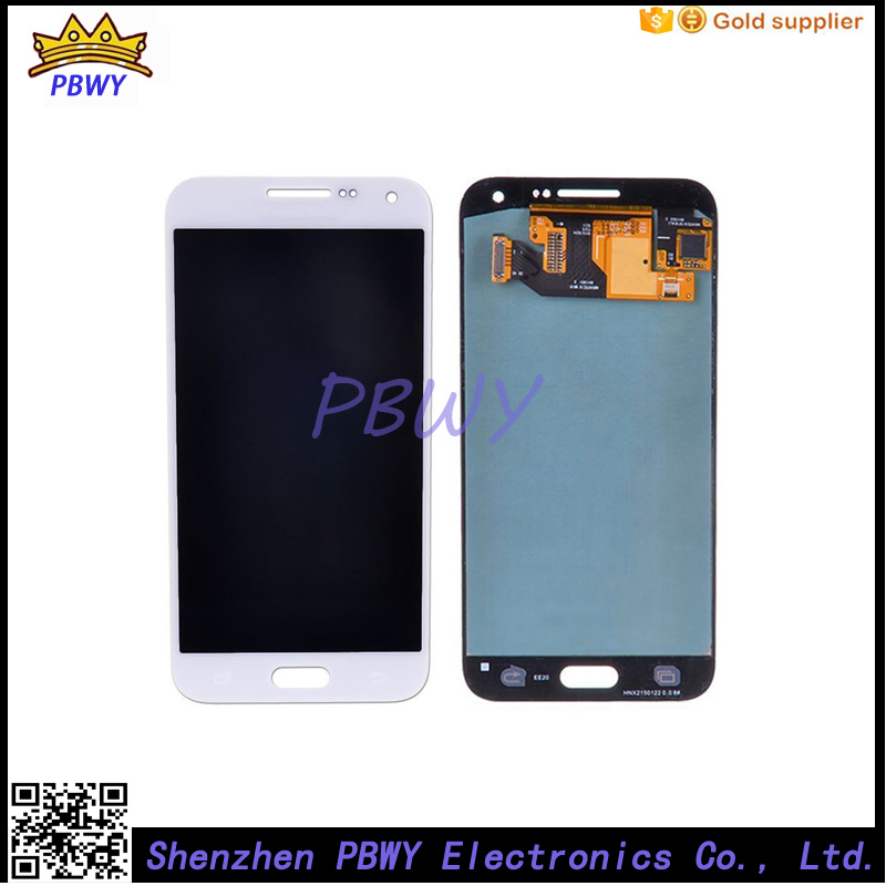 New For Samsung Galaxy E5 LCD Display with Touch Screen Digitizer Assembly Replacement E5000 E500F E500H E500M E500HQ brand new tested lcd display touch screen digitizer assembly for samaung galaxy e5 e500f h hq m f h ds replacement parts