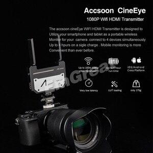 Image 3 - Accsoon CineEye 5G אלחוטי וידאו משדר מערכת כיס שידור HDMI 1080P HD שידור עד 100m עבור IOS אנדרואיד DSLRS