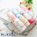 Calcinhas de Algodão das mulheres Plus Size 3XL Impressão Flor Cueca kulot Cuecas Sensuais Calcinhas Bonitos Para Senhoras Cuecas WW01