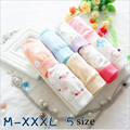 Women's Cotton Panties Plus Size 3XL Print Flower Underwear kulot Sexy Underpants Cute Panties For Ladies Briefs Underpants WW01