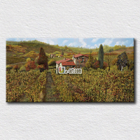The turmoil of the world pictures scenery canvas prints ideal house paintings hang on the living room