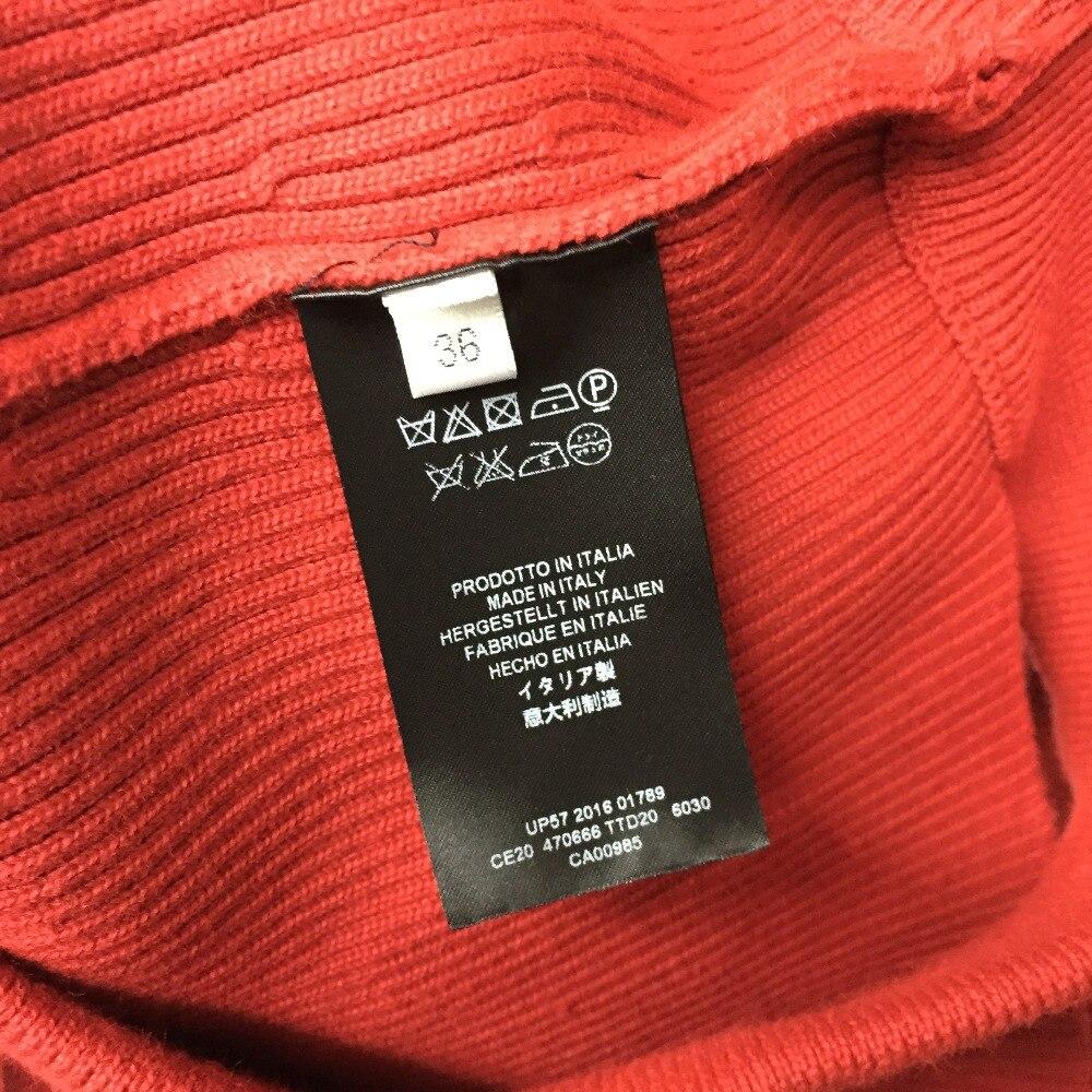 Haute Femmes Tricoté Les Mode O Pour cou Automne 2018 Chandail Qualité Luxe Pulls De SgByOfg
