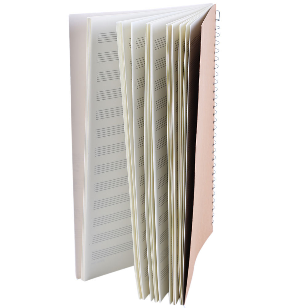 online get cheap music notebook paper com alibaba group back to school professional blank music manuscript paper book pad orchestral musician composer staff writing notebook