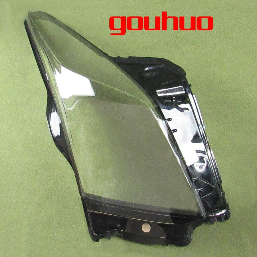1pcs Per Cadillac ATS fari trasparente coperchio della lampada ombra di copertura del faro della lampada shell fari paralume