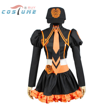 Vocaloid Kagamine Rin Uniform Girls Top Skirt Hat Anime Halloween Party Cosplay Costumes For Women Custom Made(China)