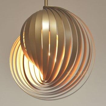 Художественная акриловая люстра, лампа для спальни, люстра, светодиодная Подвесная лампа E27, Хэллоуин, тыква, освещение, светодиодный светил...