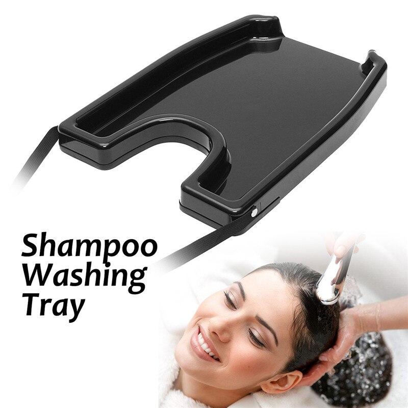 1 stück Haar Waschen Fach Becken Shampoo Spülen Schüssel Rückspülung Tragbare Badewanne Waschbecken Waschen Rollstuhl Für Salon Behandlung Friseur Werkzeug