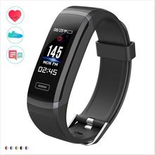 Wearpai Fitness Tracker  Color Screen Smart Wristband Bracelet OLED Heart Rate Monitor Clock for Android Ios