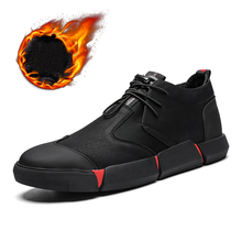 MAISMODA 2018 New Fashion Men Casual Shoes Leather Lace-up Breathable Sneaker Fur Comfortable High Quality Wholesale YL486