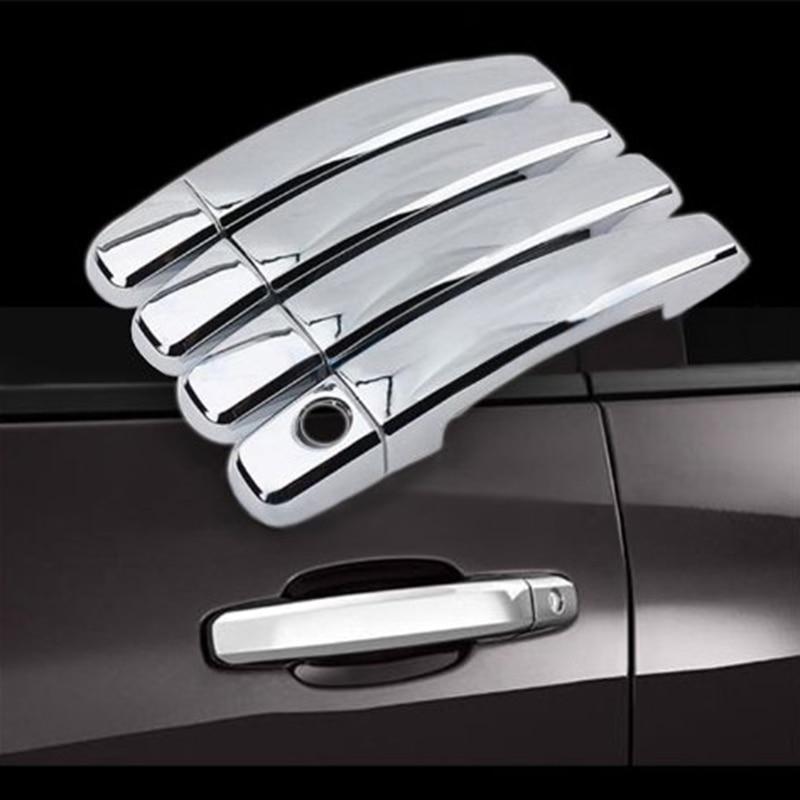 4pcs chrome door handle cover accessories for chevy chevrolet silverado 2007 2008 2009 2010 2011 for 2007 chevy silverado interior door handle