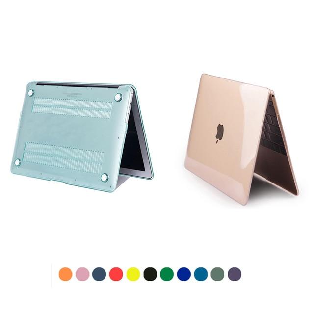 Transparent Crystal Case for font b Macbook b font Air 11 13 Pro 13 15 Retina