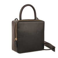 2018 Brand Original Design Women S Flap Bag Genuine Leather Box Bag One Shoulder Crossbody Bag