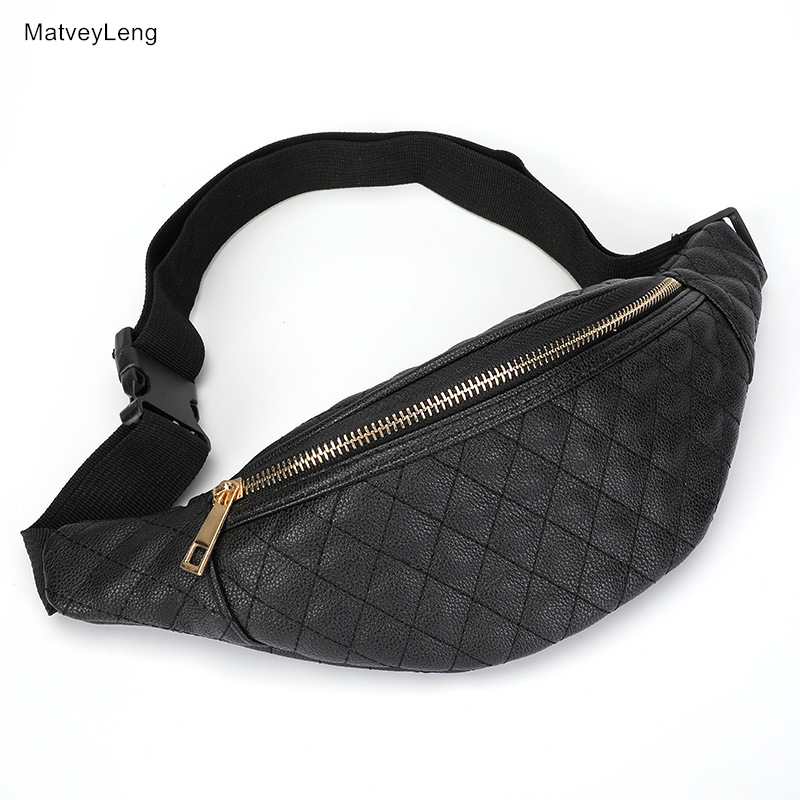 Hot New Fashion Waist PacksPU Material Ladies Belt Bag Quality Banana Bag Multi-purpose Belt Bag Unisex Style Free Shipping free shipping good quality tools bag electrician bag multi purpose bag 39x8x26cm 61038