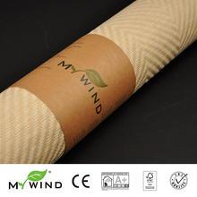 3D Paper Weave Design Wallpaper In Roll Decor papier peint 2019 MY WIND Grasscloth Wallpapers Luxury Natural Material Innocuity