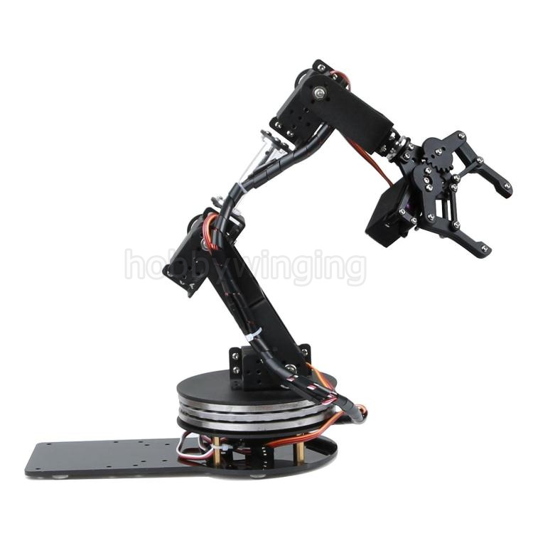 6 DOF Robot Swivel Stand Mount Manipulator Metal Alloy Mechanical Arm Clamp Claw Kit MG996R DS3115 for Arduino Robotic Education sheep for cnc in stl file format 3d model relief