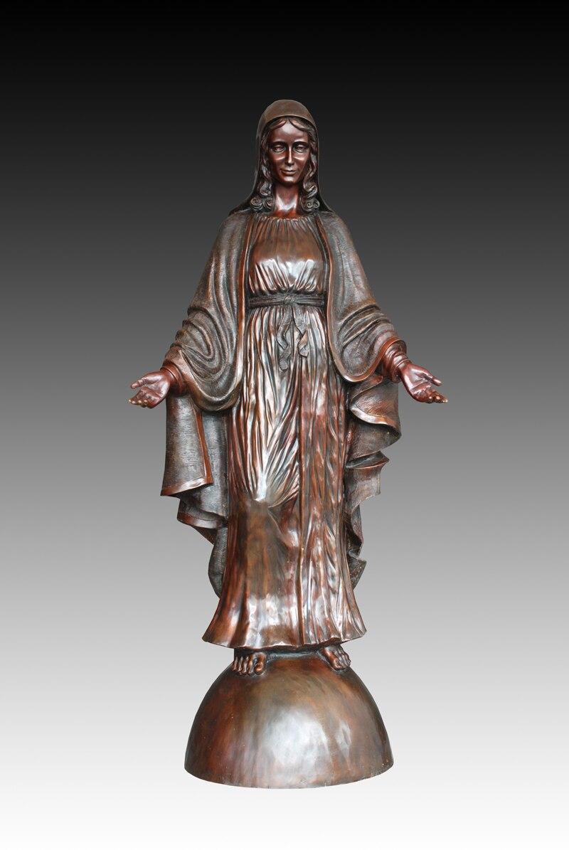 Mary plastic statue virgin