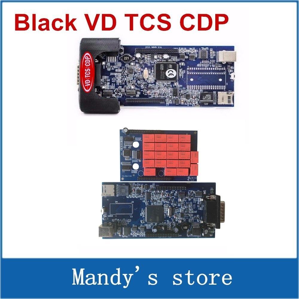 imágenes para VD TCS CDP Pro + Con Bluetooth Con 2014. R3 Keygen/2015R3 Opcional Escáner 3 en 1 coche Camión de Diagnóstico Genérico herramienta
