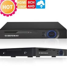 HD Полный 720 P CCTV DVR 960 H Hybrid DVR + 720 P AHD DVR 8 Канальный Видеорегистратор Onvif P2P Облако Видеонаблюдения Системы камера