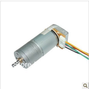 Buy diy 6 24v dc gear motor encoder for Dc gear motor with encoder