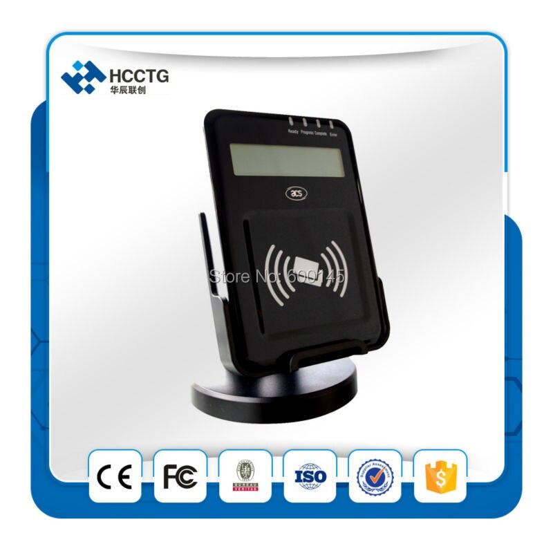 13.56 MHZ LCD USB PC - liée NFC sans contact lecteur Writer soutien ISO14443 ab carte avec sdk gratuit kit pour E - banque / Pay - ACR1222L - 3