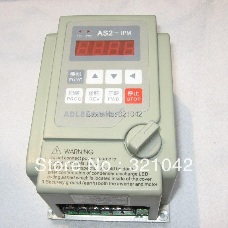 Высокое качество сделано в Китае AS2-IPM/AS2-104/0.4KW/400 Вт преобразователь частоты регулятор скорости вращения двигателя