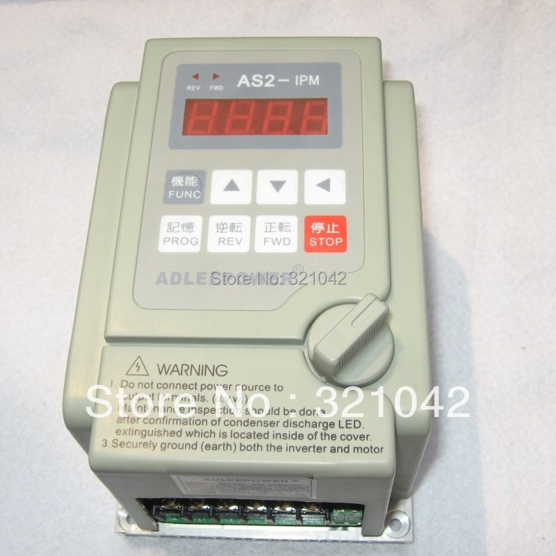 high quality made in China AS2-IPM/AS2-104/0.4KW/400W frequency converter motor speed controller