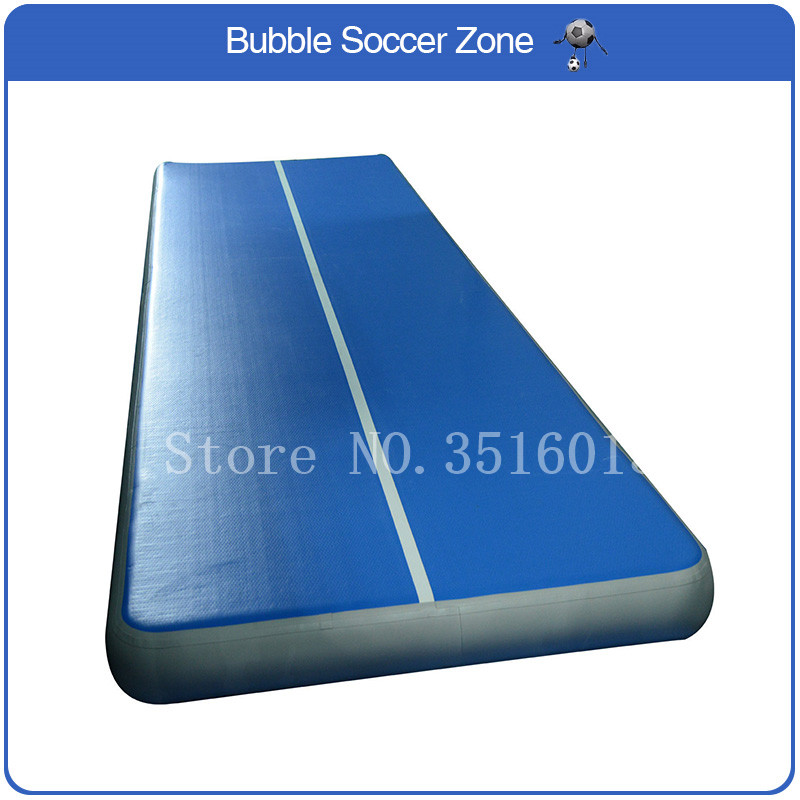 Free Shipping 2 pieces 6x2x0.2m Inflatable Gymnastics Mattress Gym Tumble Airtrack Floor Tumbling Air Track For Sale