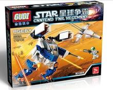GUDI 8609A Star Wars Earth Border Hellfire Minifigure Building Block 178Pcs Bricks Toys Compatible with Legoe