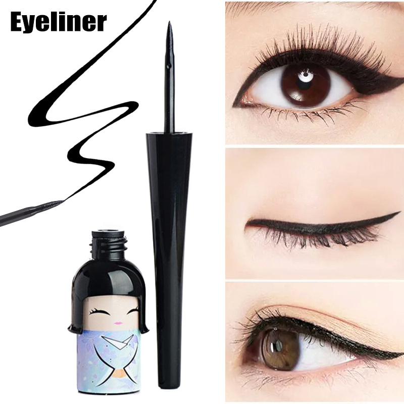 Eyeliner Liquid Pen Japanese Doll Cute Waterproof Hard Head Makeup Cosmetics Beauty Eyes Makeup Liquid Eyeliner Рюкзак