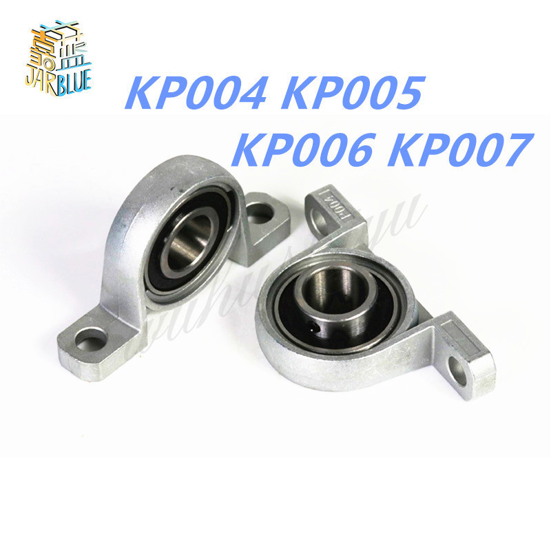 2pcs 20mm bore diameter kfl004 pillow block bearing flange rhombic bearings new Dia 20mm 25mm 30mm 35mm Bore Diameter Mounted Bearings Ball Bearing Pillow Block KP004 KP005 KP006 KP007