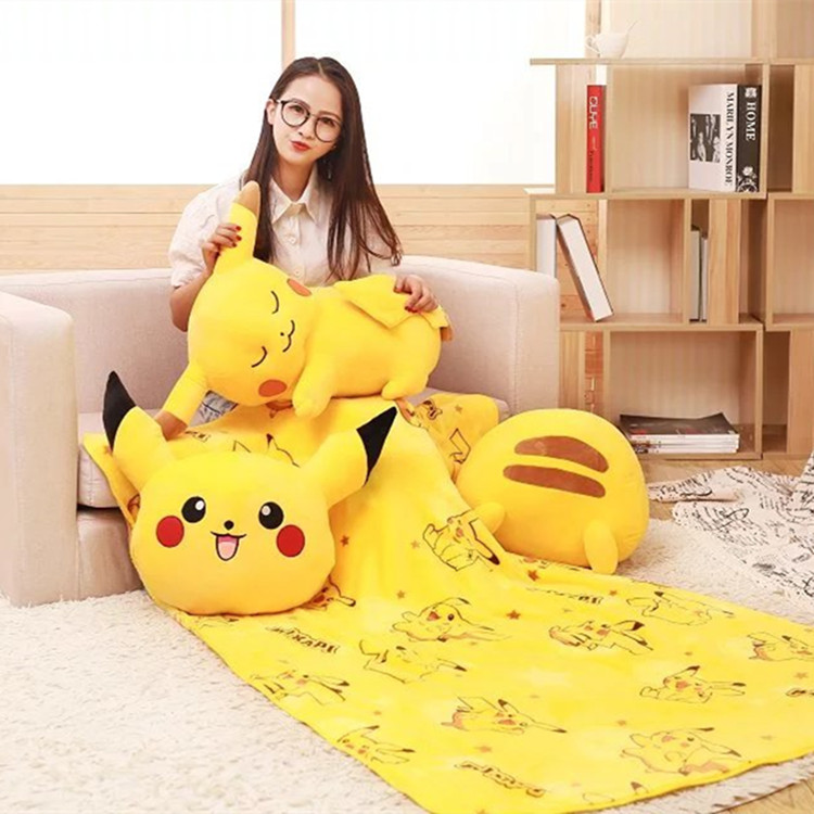 Candice guo plush toy stuffed doll cartoon animal anime pikachu tissue case box cover rest pillow sleeping cushion blanket 1pc candice guo plush toy stuffed doll cute 3d dog cartoon animal sofa pillow rest cushion sleeping baby christmas birthday gift 1pc