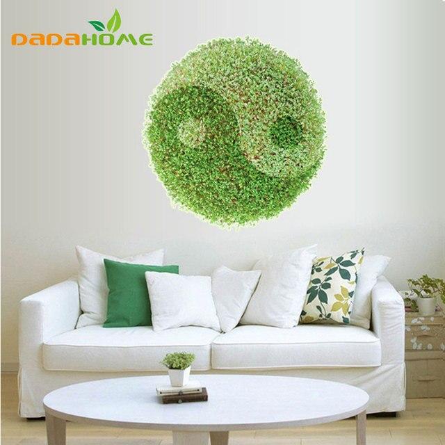 3D Murale Green Grass Tai Chi Modello piano rivestimenti Soggiorno ...