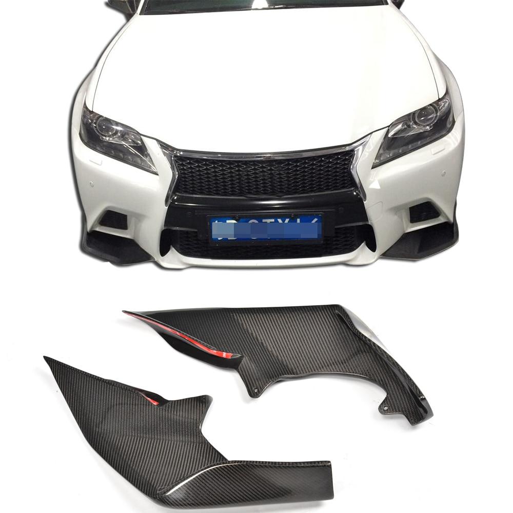 2014 Lexus Is F Sport For Sale: Carbon Fiber Front Bumper Flaps Apron Lip Splitters For