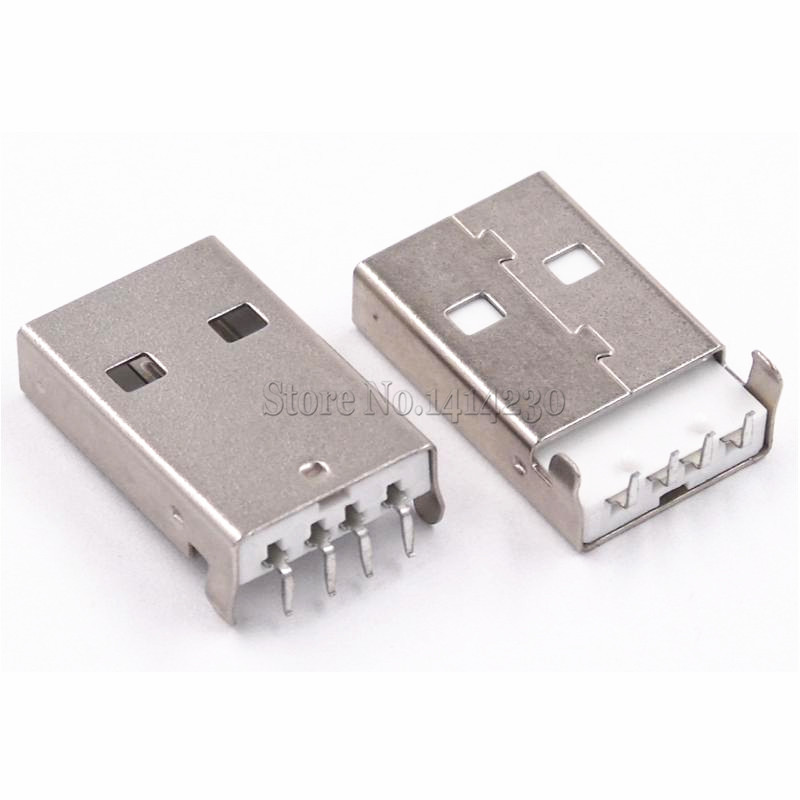 10Pcs New USB A male head USB curved needle 90-degree bend the foot ξ ny ih австрийский 9th годовщина pu эр юньнань pu и hp у ребенка teacake 2016 357gripe