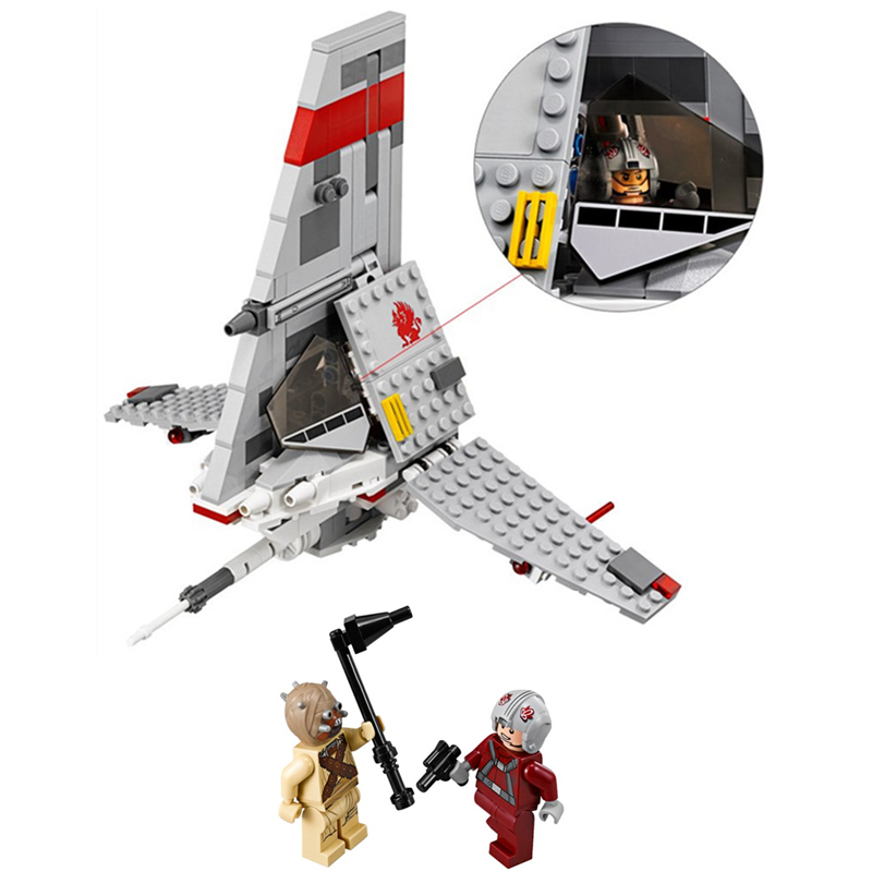 246pcs STAR WAR T-16 Jump space fighter building blocks bricks toys children gift Compatible With Lepin