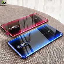 Case For Xiaomi Redmi K20 Pro Cover Luxury Clear Plating Phone Soft Silicone Back K 20 Funda