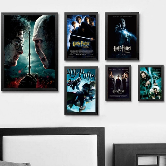 Harry Potter Wall Art Wall Decor Silk Prints Art Poster Paintings For Living Room No Frame