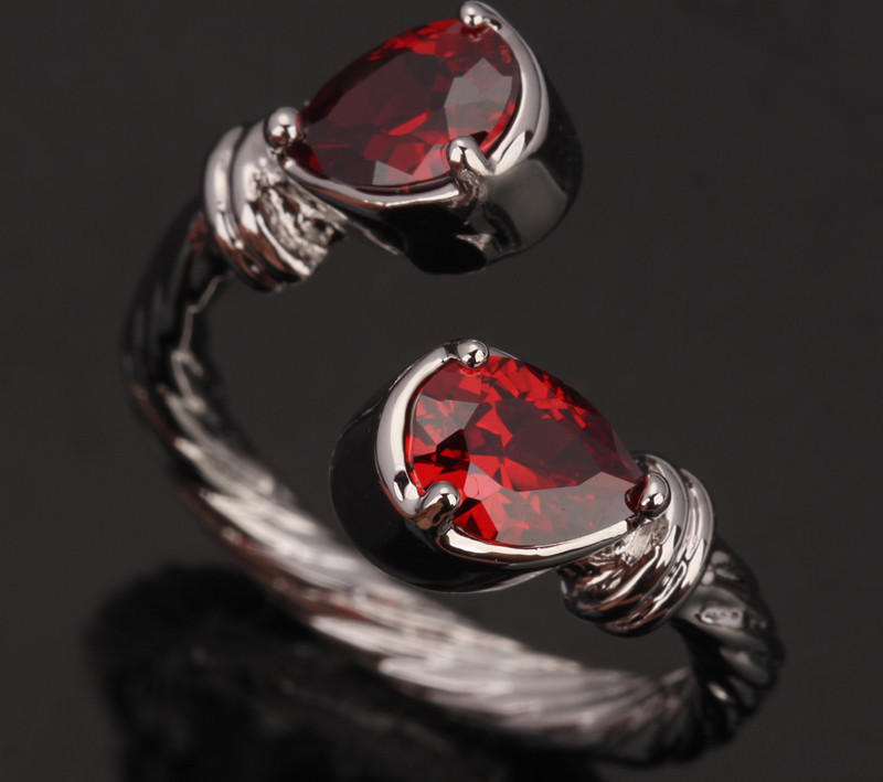 Best Top 925 Sterling Silver Anillo Rojo List And Get Free