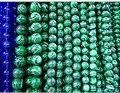 Высочайшее качество Натурального Камня Малахит павлин камень бисер Круглый Loose бисер мяч 4/6/8/10/12 ММ Ювелирные Изделия браслет Strand решений diy