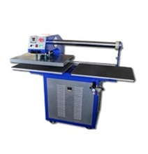 printing area 40x60cm double station vertical heat press machine