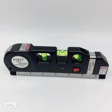 Лазерной niveau круис Lijn лазера ленты 2,5 м Measurment универсальный ручной инструмент
